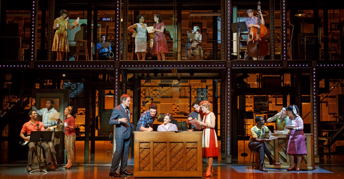 Beautiful The Carole King Musical On Broadway Official